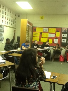 9 Honors Socratic Seminar on _Ender's Game_