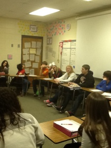 9th Honors Lit Socratic Seminar on _Ender's Game_